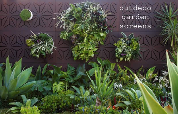Outdeco Gardenscreen in a Phillip Withers Landscape Design